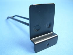 Custom Made Eurohooks - Bespoke Eurohook Fittings - Shelving Eurohooks - Double Prong Slatwall Eurohooks